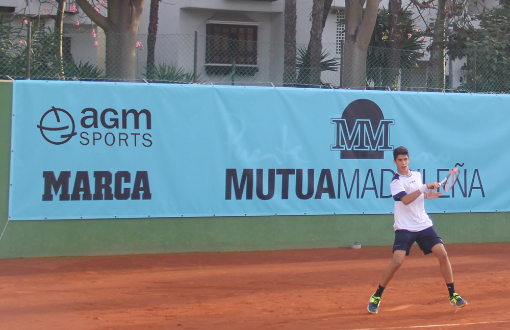 AGM en el Mutua Madrid Open Sub 16