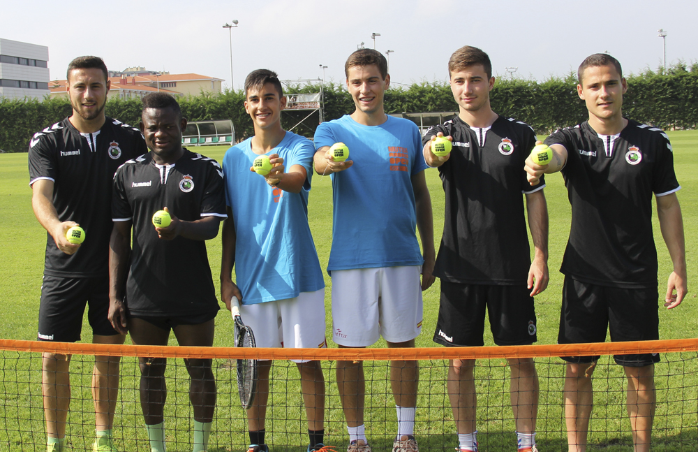 El Racing de Santander con el Mutua Madrid Open Sub 16