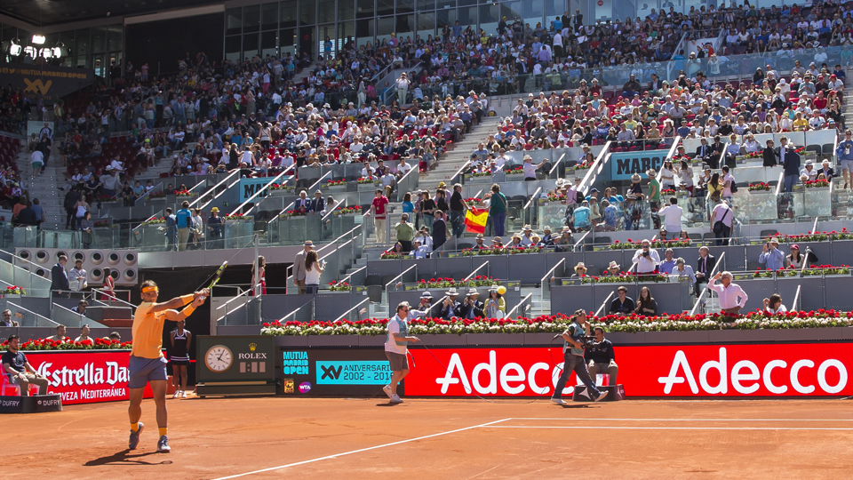 Entradas Mutua Madrid Open 2017