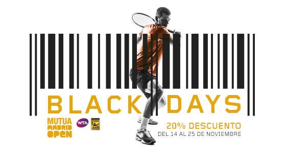 Black Friday del Mutua Madrid Open